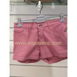 Short cinco bolsillos rosa