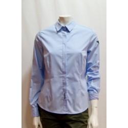 Camisa básica azul