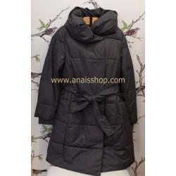 Mdm chaquetón acolchado en gris vigoré