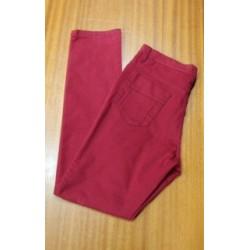 Pantalón loneta grana